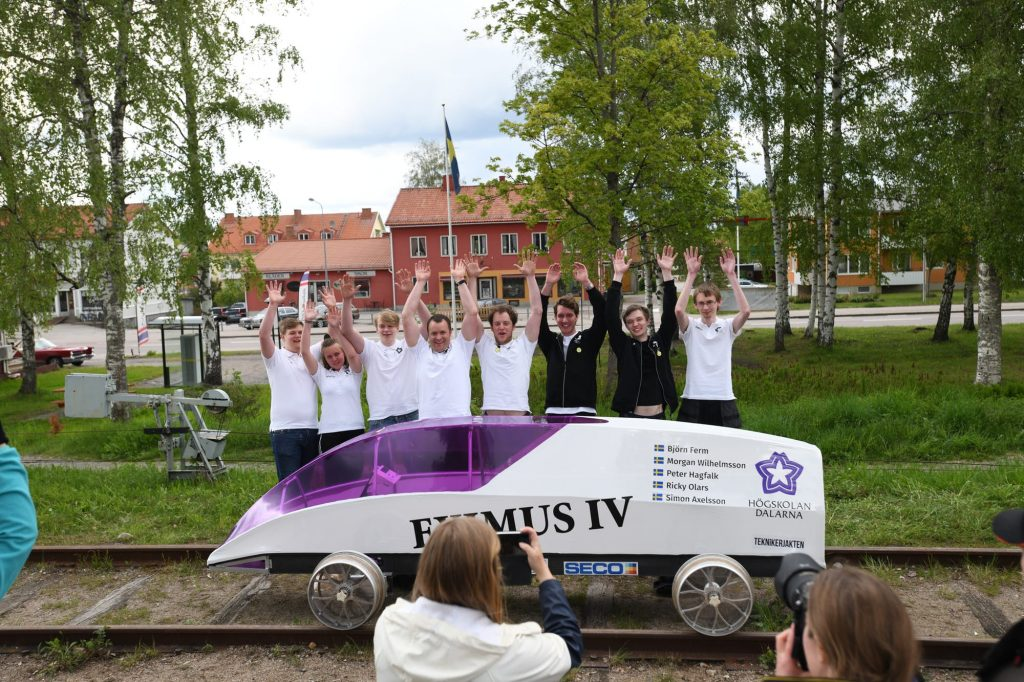 Eximus IV Becomes World's Most Efficient Vehicle In 2019 Delsbo Electric