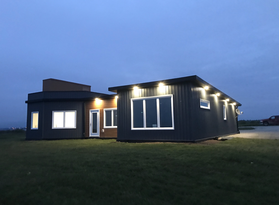 JD Composites Constructed A Home Using 600,000 Plastic Bottles