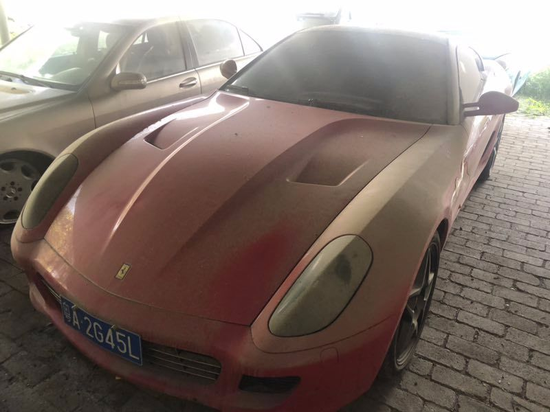 This Abandoned Ferrari Is On Sale For Just 250 In China