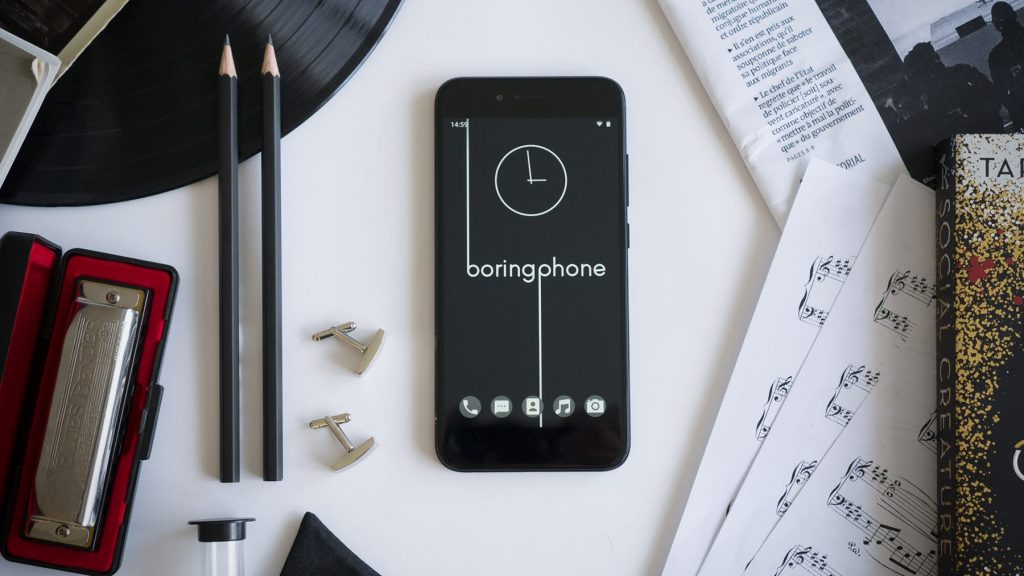BoringPhone Will Keep Distractions To A Minimum For You