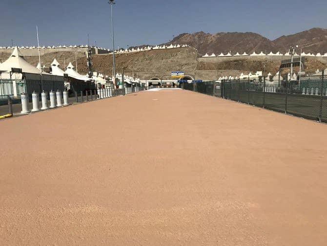 El recubrimiento de bloqueo térmico se está utilizando en Arabia Saudita para el Hayy