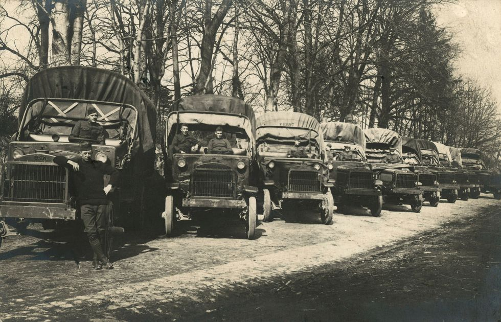 This Is How A Truck Convoy In 1919 Helped The US Win WWII