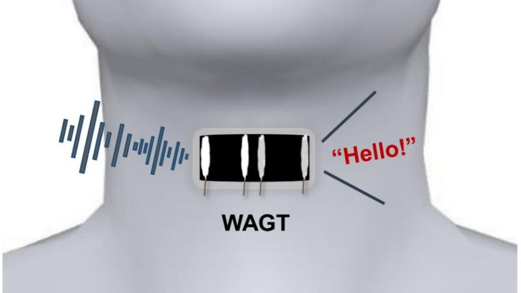 Wearable Artificial Graphene Throat Allows The Mute To Speak