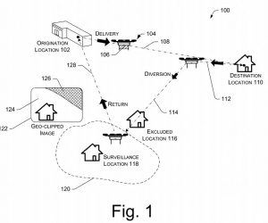 Amazon Has Patented Surveillance As A Service Using Drones