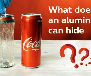 Did You Know That Aluminum Cans Have Plastic In Them?
