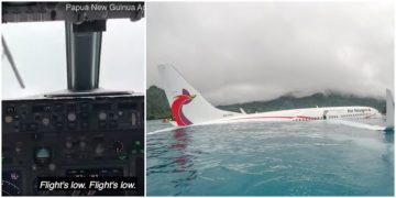 This Is The Cockpit Footage Of A Boeing 737 Crashing Into A Lagoon