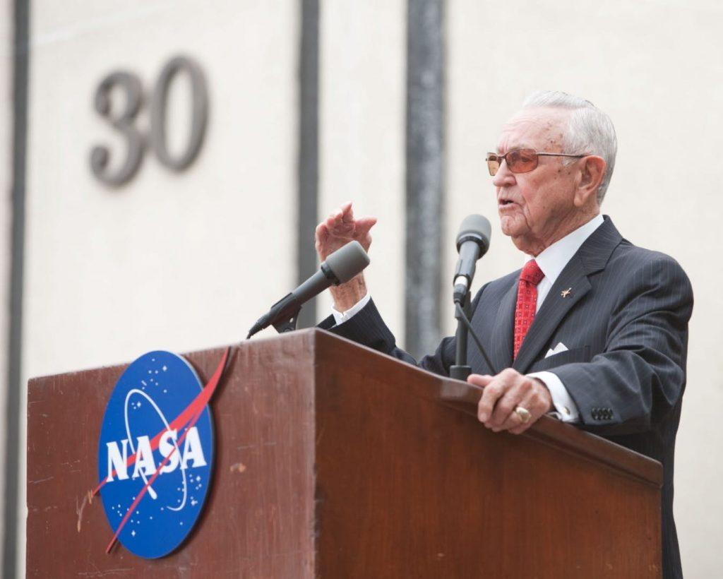 Chris Kraft – The Inventor Of NASA Mission Control - Has Passed Away