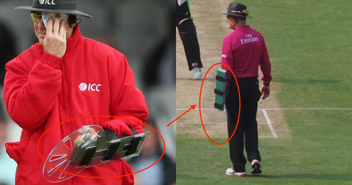 Device That Umpire Bruce Oxenford Used During IPL 2016!