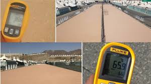 Heat Blocking Coating Is Being Used In Saudi Arab For Hajj