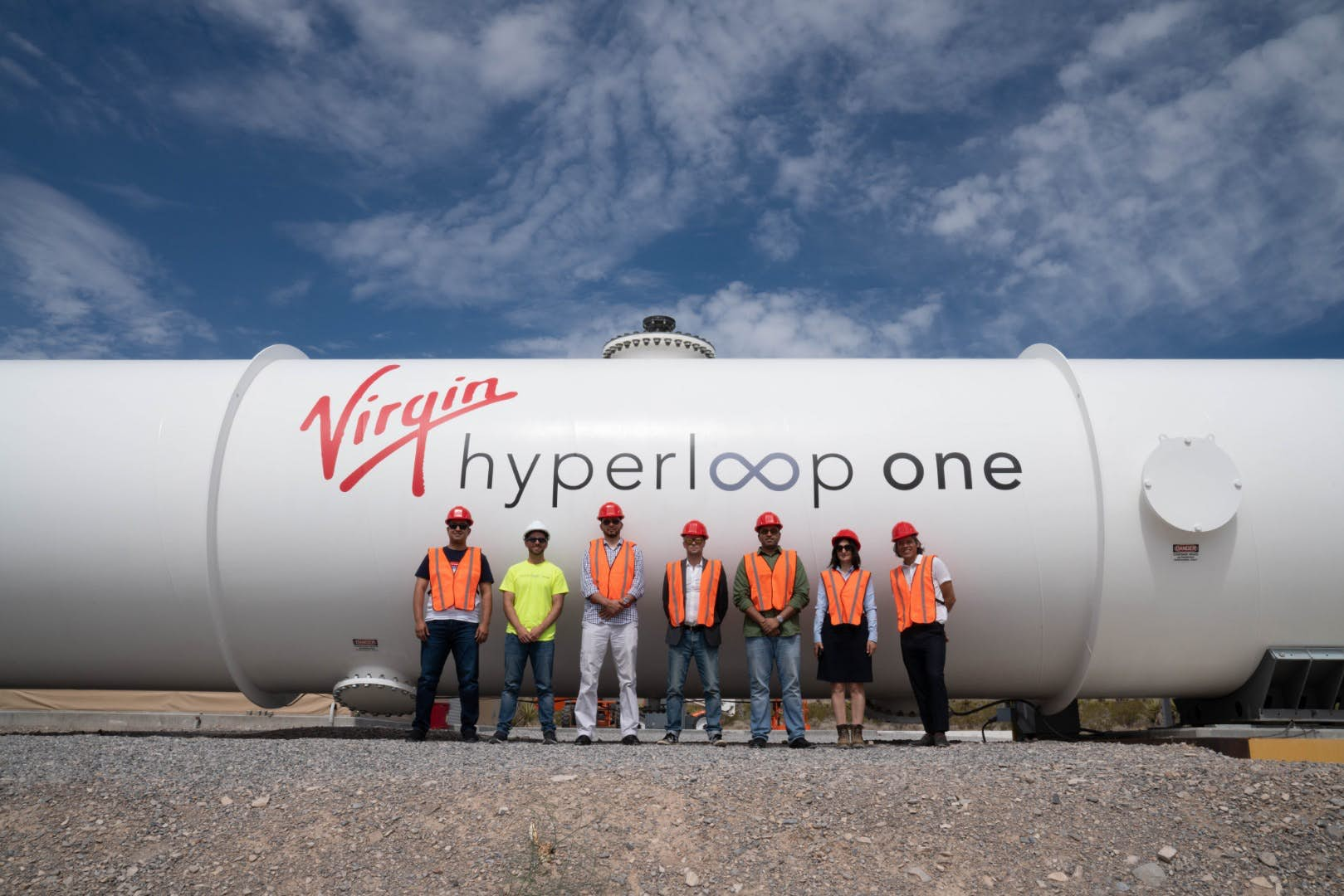 Virgin Hyperloop One Is Building A Hyperloop Track In Saudi Arabia