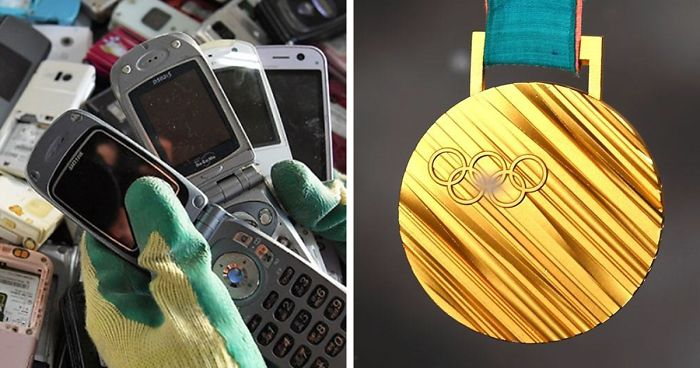 2020 Summer Olympics Medals Are Created From Recycled Electronics