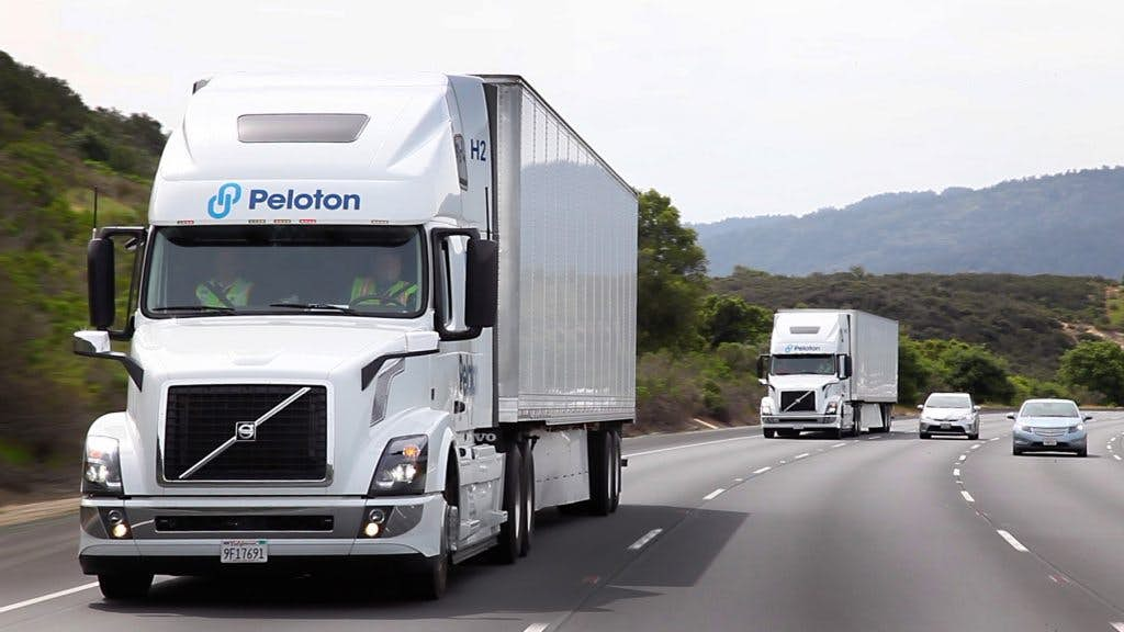 Peloton Wants Truck Drivers To Drive Two Trucks At The Same Time