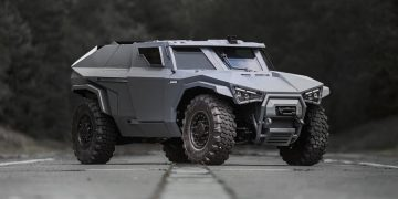 Scarabee By Arquus – A Military Vehicle That Can Drive Sideways