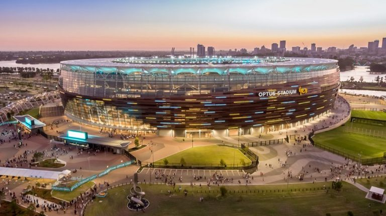 The Optus Stadium Has Won The Prix Versailles For Sport Award