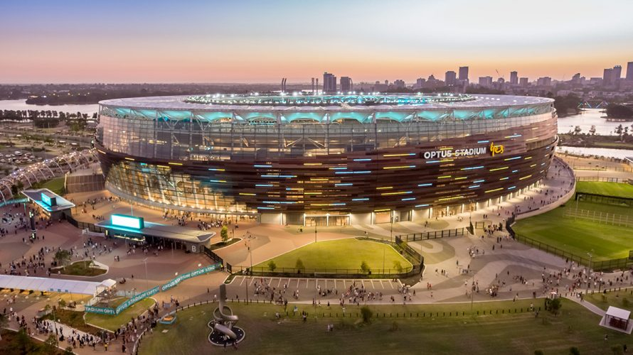 The Optus Stadium Has Won The Prix Versailles For Sport Award