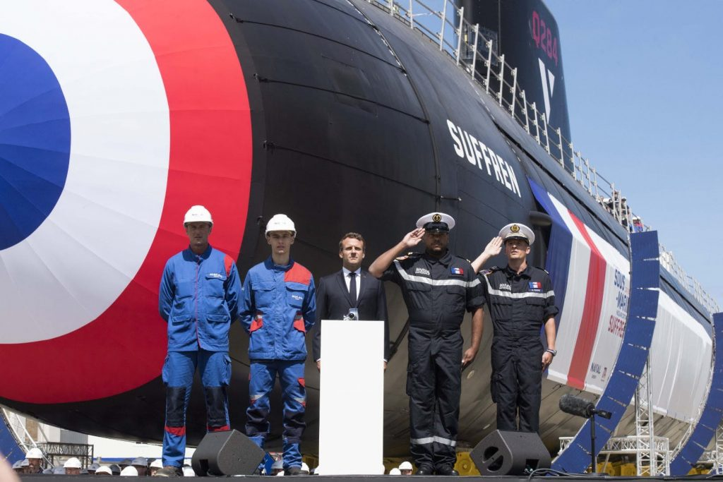 France Unveils The First Barracuda Class Sub, SNA Suffren