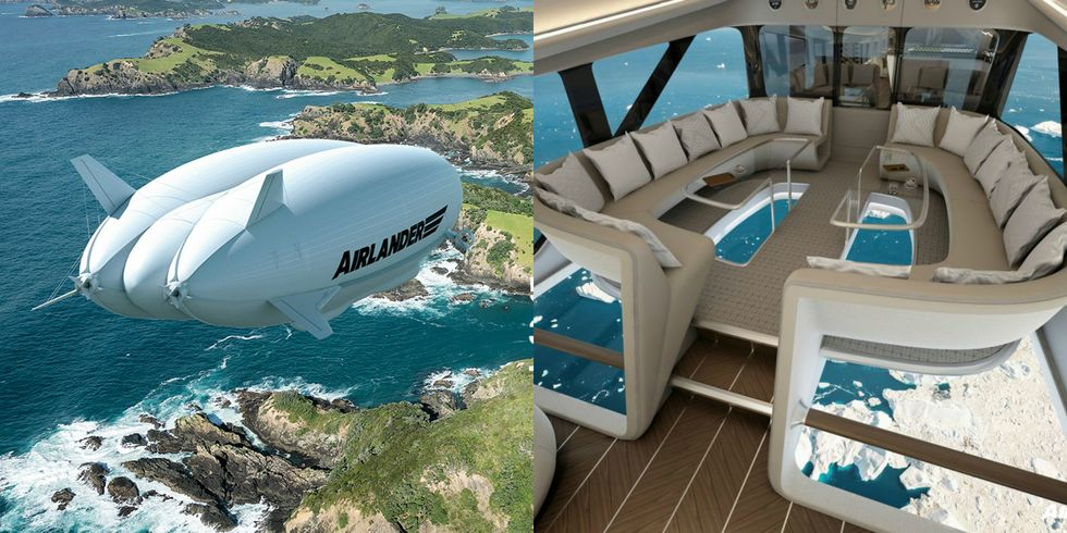 Airlander 10 Is Cruise Ship Of The Sky And Is More Than Just Comfortable