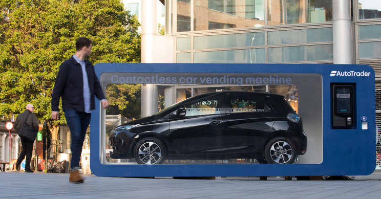 Auto Trader Is Testing A Car Vending Machine In London