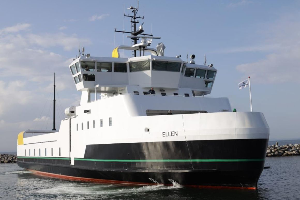 Ellen, The Largest Electric Ferry, Has Completed Its Maiden Voyage