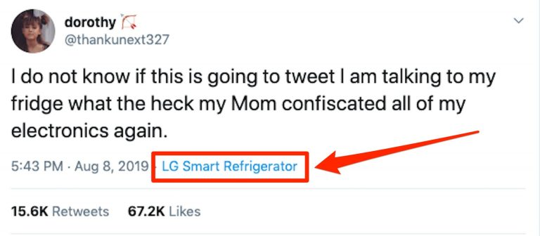 LG Smart Fridge Was Used To Tweet Giving Rise To #FreeDorothy