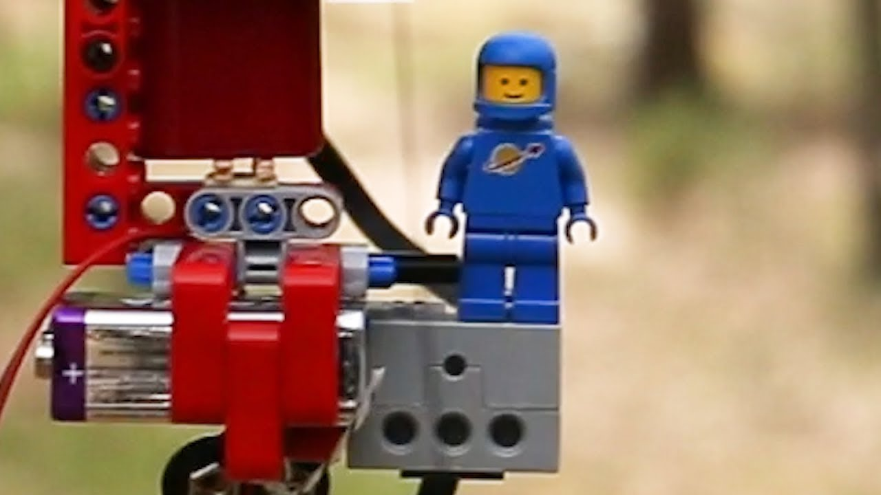 Learn How To Make A LEGO Man Fly Using This Video