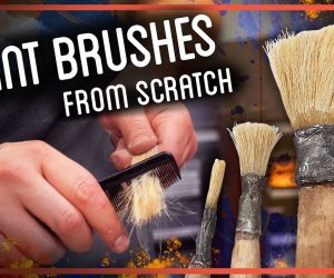 Learn How To Make Your Own Paintbrushes Using This Video