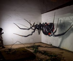 Odeith Creates Mind-Blowing Anamorphic Masterpieces In Portugal