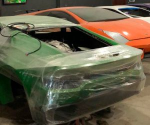Police In Brazil Caught The Duo Making Fake Ferraris And Lamborghinis