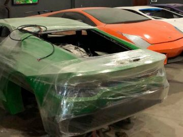 Police In Brazil Caught The Duo Making Fake Ferraris And Lamborghinis
