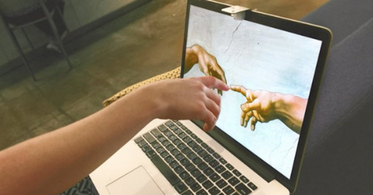 Sistine Chapel Can Turn Your MacBook Into A Touchscreen Computer