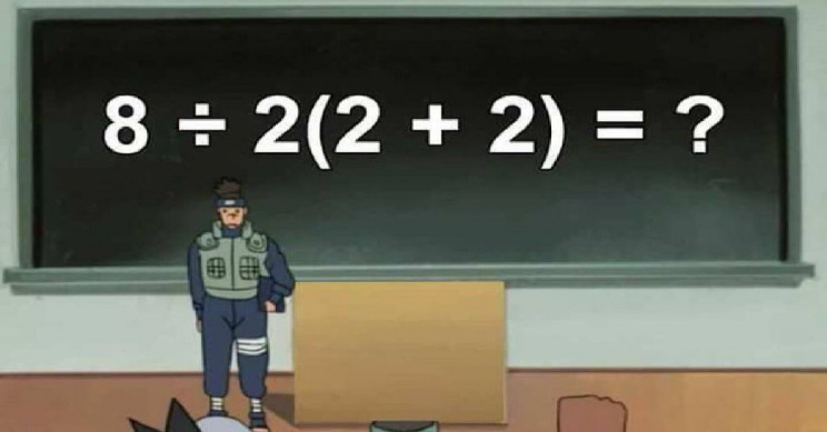 This Simple Mathematics Equation Has Divided The Internet!