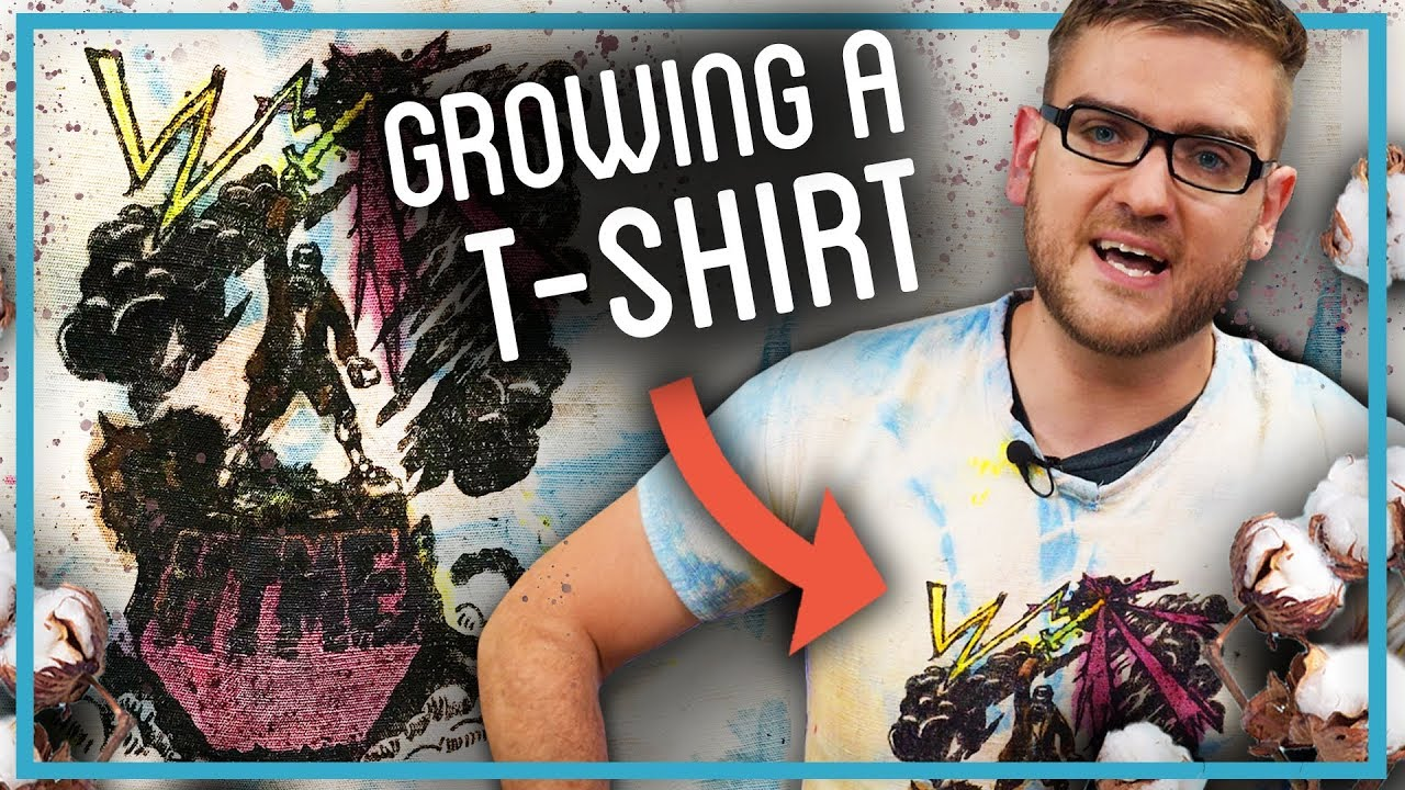 How To Make Everything Host Made His Cotton T-Shirt By Growing Cotton