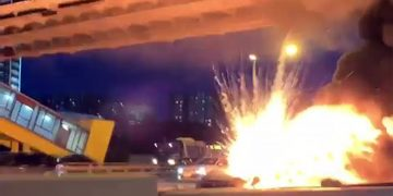 Tesla Model 3 Owned By Alexey Tretyakov Exploded Twice
