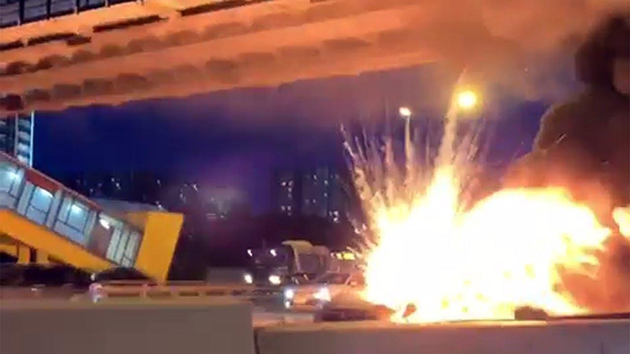 Tesla Model 3 Owned By Alexey Tretyakov Exploded Twice