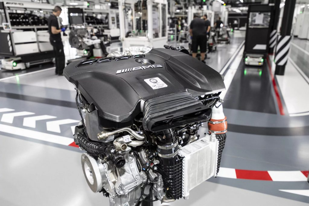 The Most Powerful 4-Cylinder Engine In The World By Mercedes