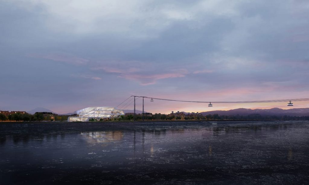 UN Studio Is Designing The First International Cable Car