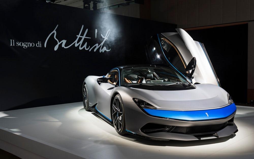Automobili Pininfarina Unveils The Battista – Futuristic Luxury Electric Car