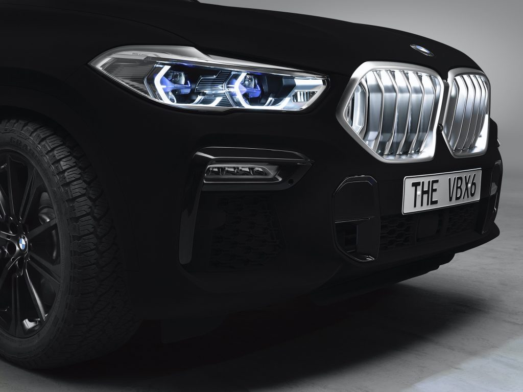 BMW Will Be Showing Off Its X6 SUV In Vantablack Paint Finish