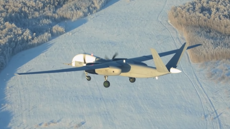 Russia's Latest Unmanned Drone, Altair, Has taken To The Skies