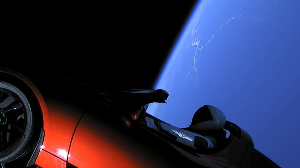 The Starman Has Completed The First Orbit Of The Sun
