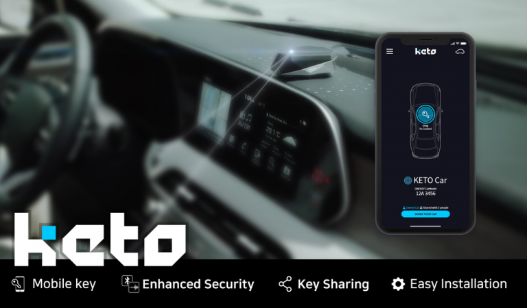 Unlock And Start Your Car Using Your Phone With Keto System