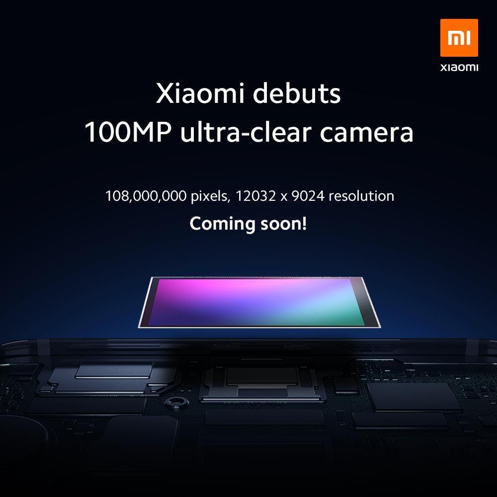 Xiaomi Will Be Launching A 100-Megapixel Phone Camera Soon