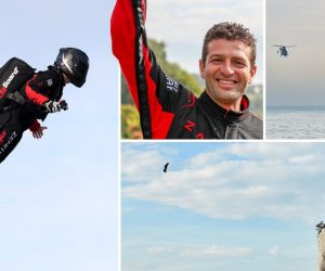 French Inventor 'Flyman' Has Successfully Crossed The English Channel