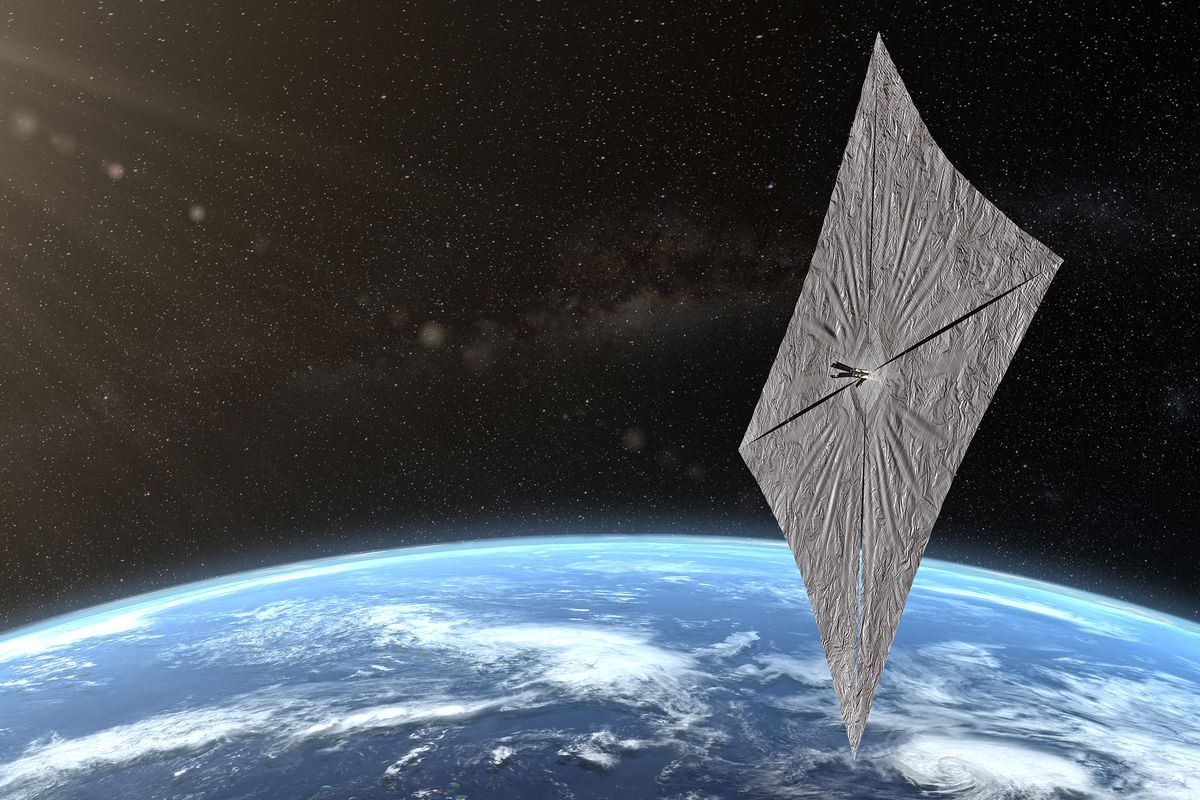 LightSail 2 Is Using Solar Energy For Maintaining And Raising Its Orbit