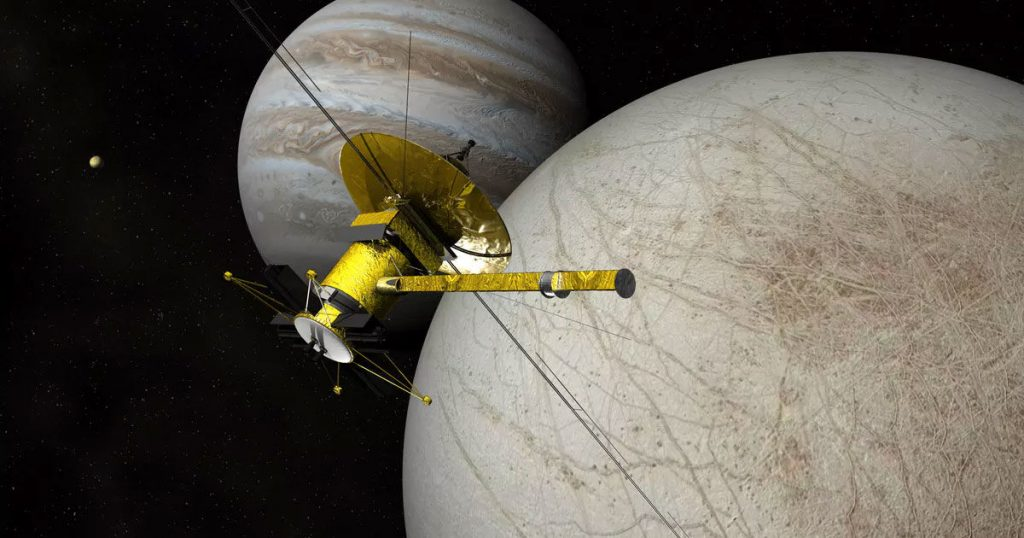 NASA Has Confirmed Europa Clipper Mission Aimed At Finding Life