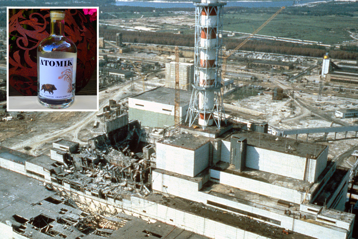 Atomik - A Radioactive-Free Vodka Created In Chernobyl Exclusion Zone
