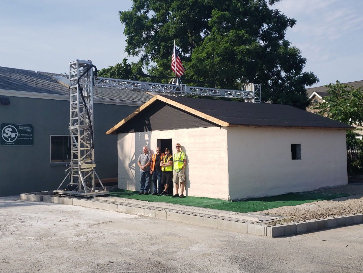 SQ3D Created A Prototype House Using 3D Printing In 12 Hours