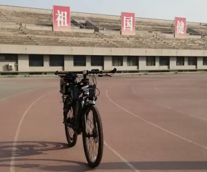 This Chinese Autonomous Bicycle Is Special Because Of Its Tianjic Chip