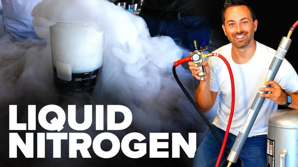 Learn How To Make Liquid Nitrogen From Scratch Using This Video