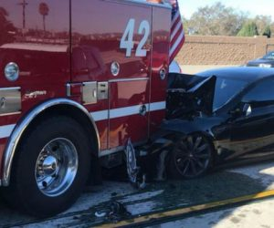 NTSB Concludes Its Report On Tesla Model S Crash – Driver Was At Fault